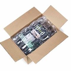 Una muestra del embalaje inflable Multitube usado para proteger el producto en una caja.